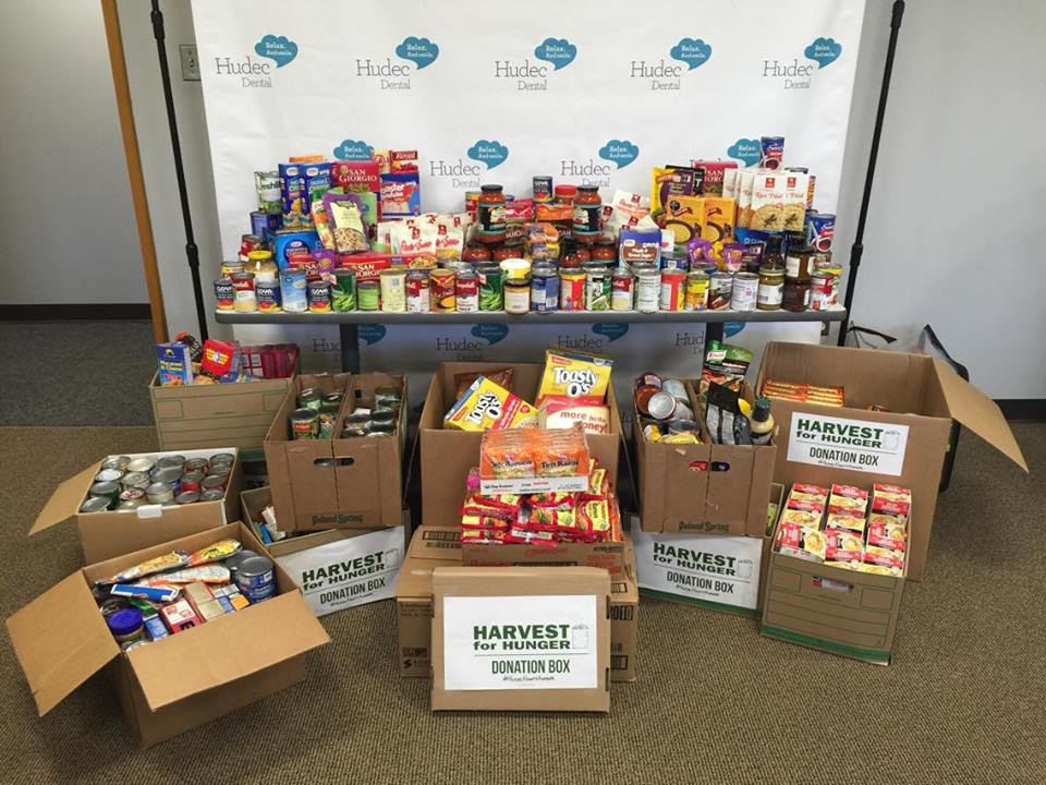 Harvest for Hunger Food Drive 2016